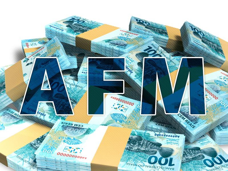 AFM: governo anuncia pela terceira vez, mas não paga recurso