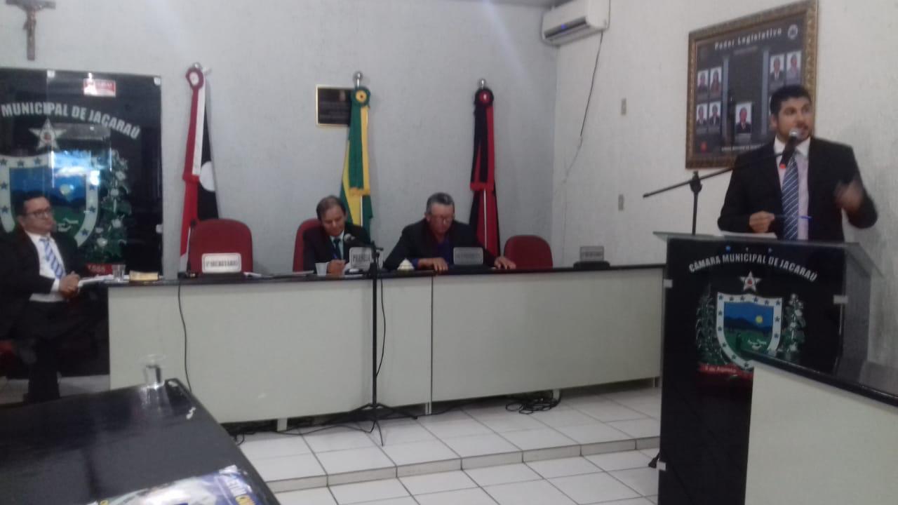 Câmara Municipal de Jacaraú volta aos trabalhos após recesso legislativo