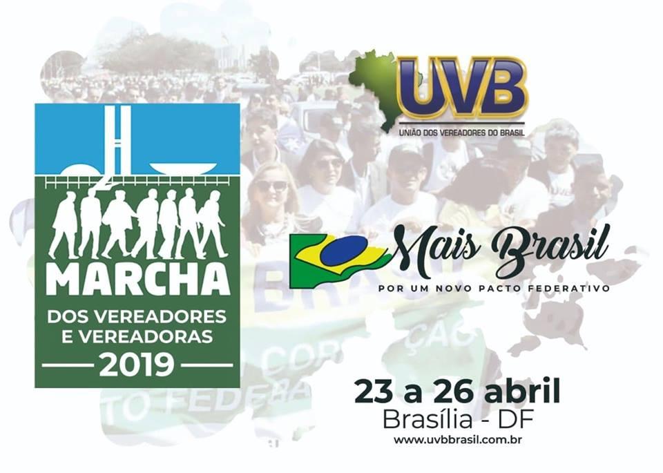 Começa nesta terça-feira (23) a Marcha de Vereadores e Vereadoras