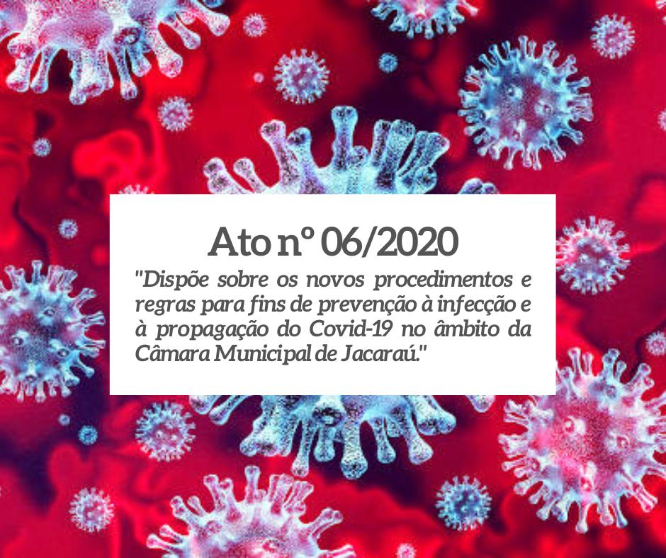 Mesa Diretora define novos procedimentos de combate ao coronavírus (COVID-19)