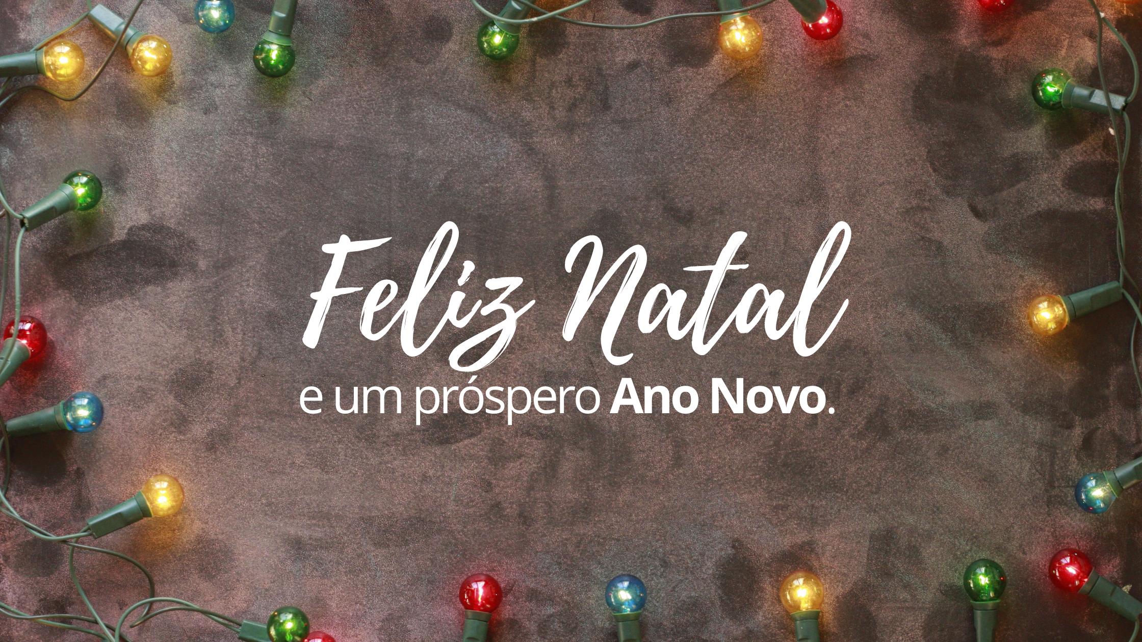 Mensagem de Natal e Ano Novo do vereador e presidente Lico de Doro