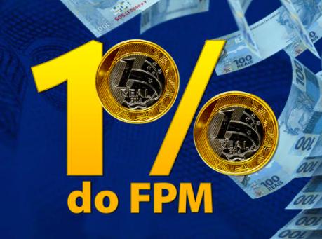Estimativa CNM: 1% do FPM deve ficar na faixa dos R$ 4,6 bilhões