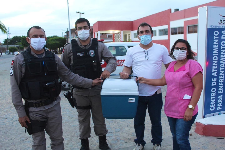 Jacaraú recebe primeiras doses da vacina contra a Covid-19
