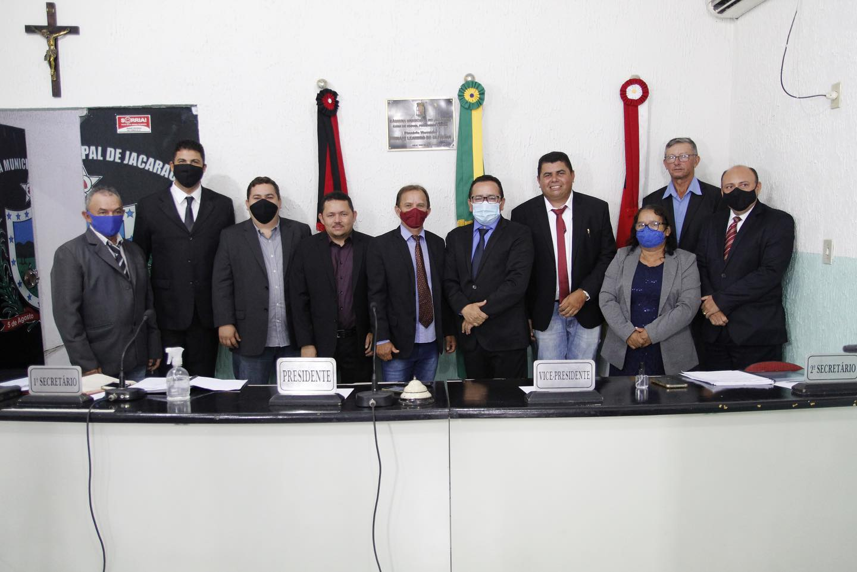Parlamentares abrem ano legislativo da Câmara Municipal de Jacaraú