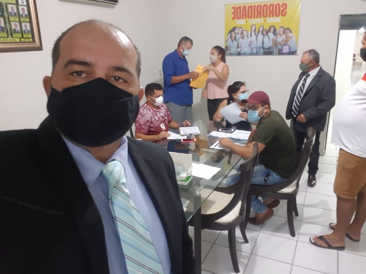 Vigilância Epidemiológica faz testagem de coronavírus na Câmara de Jacaraú